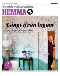 Frilansjournalist Anna Hultberg Joakim Bengtssons hem Sydsvenskan