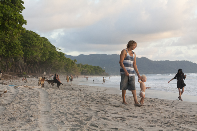Frilansjournalist Anna Hultberg foto Costa Rica med barn